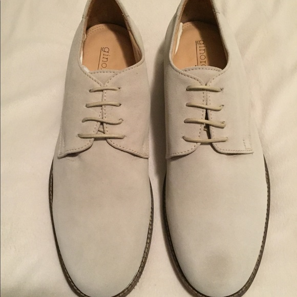 Ginorossi JAB Other - NEW Mens White suede buck shoes dea4a14c07ad